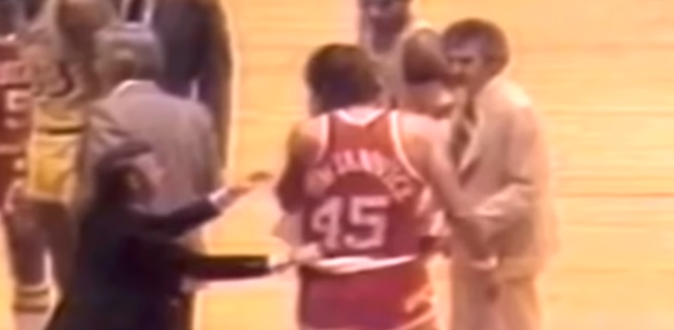 Rudy Tomjanovich The Punch