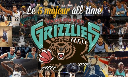 Grizzlies 5 majeur all-time