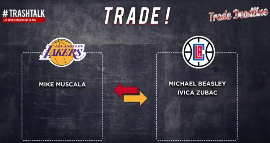 Lakers Clippers trade