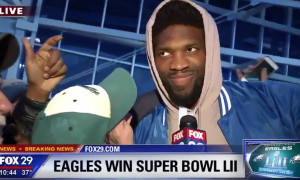 Super Bowl joel embiid