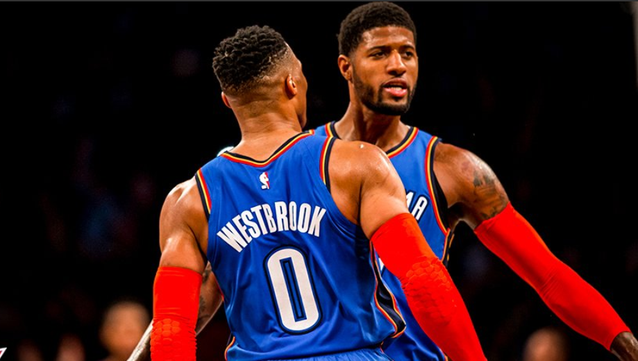 Paul George westbrook thunder pari