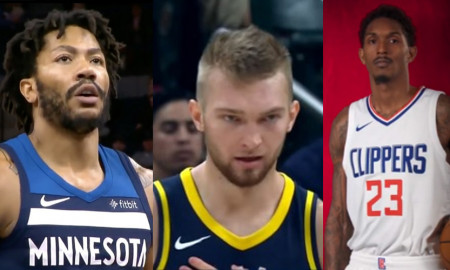 Lou Williams Derrick Rose Domantas Sabonis