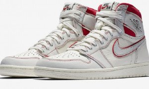 Air Jordan 1 Retro High OG Sail University Red : de la simplicité à vos pieds