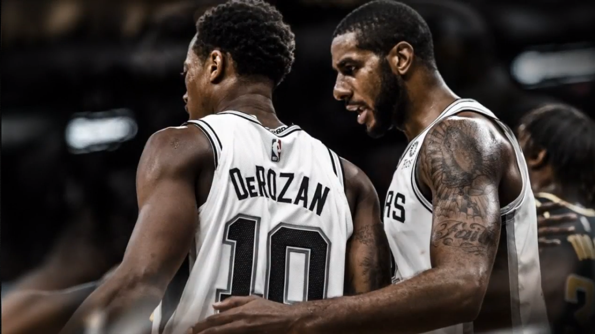 spurs derozan aldridge
