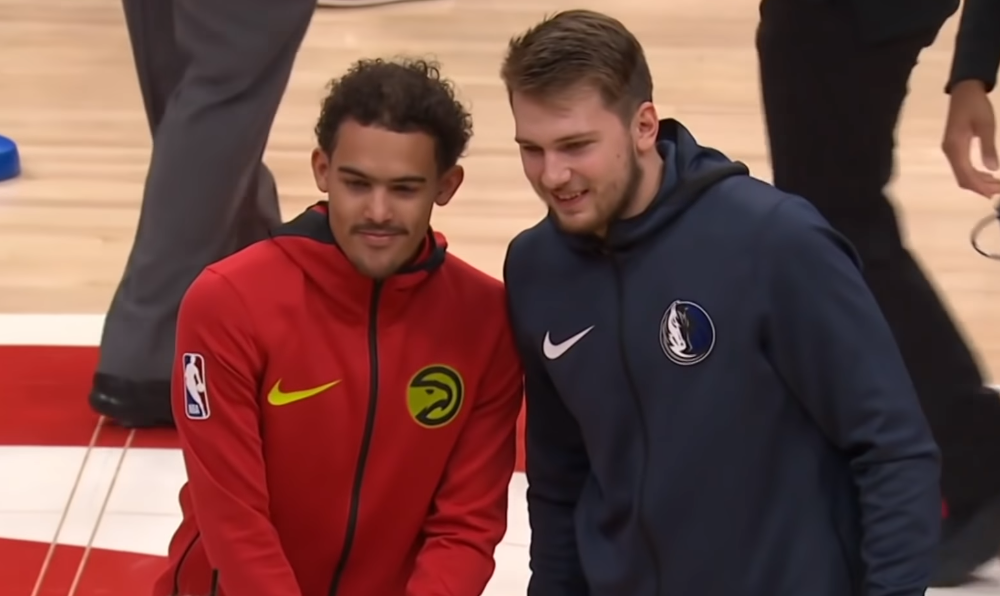 Luka Doncic Trae Young