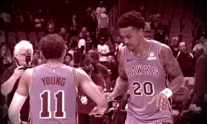 hawks john collins trae young
