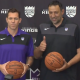 Luke Walton Vlade Divac Kings