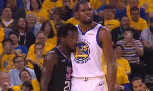 Kevin Durant Patrick Beverley