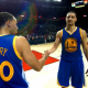 Stephen Curry Klay Thompson Golden State Warriors