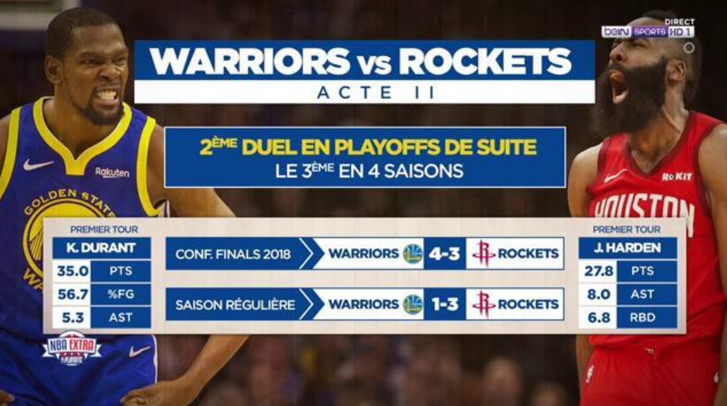 Warriors - Rockets
