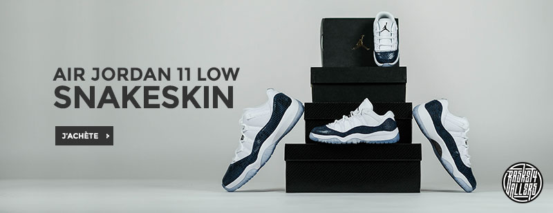 "Air Jordan 11 Retro Low LE ""Snakeskin"""