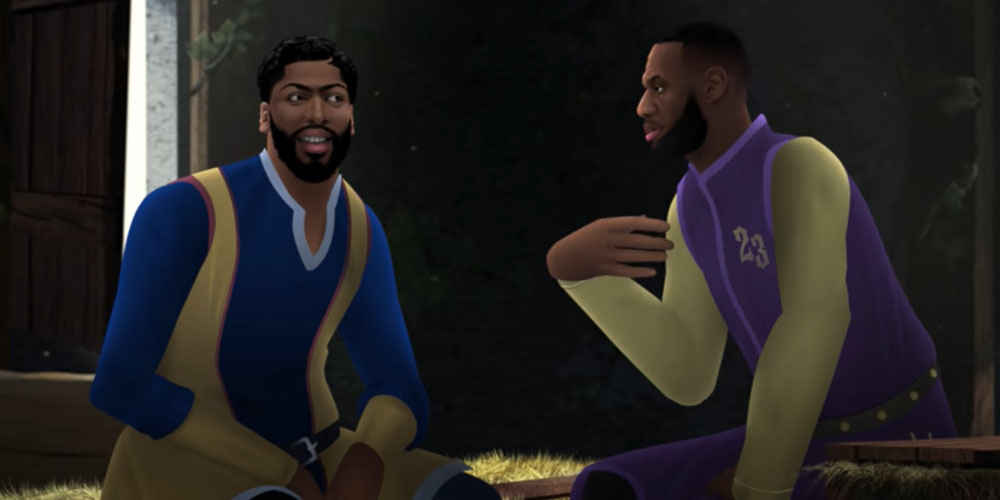 Anthony Davis LeBron James