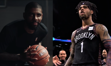 D'Angelo Russell kyrie irving nets
