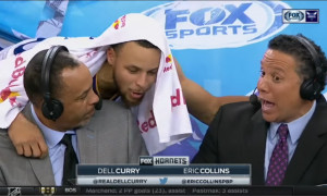 Dell Curry Steph Curry