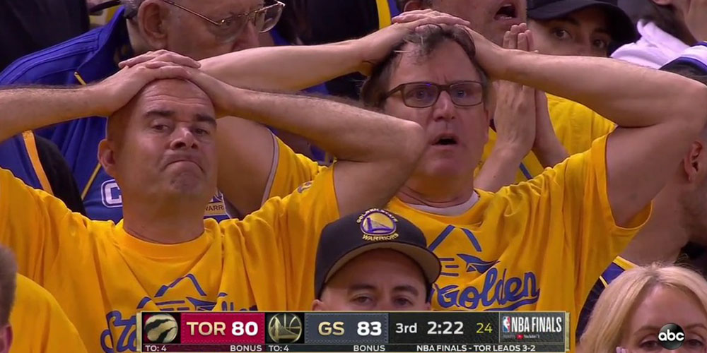 Klay Thompson Warriors Fans