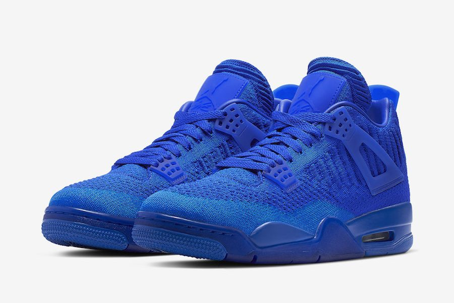 Air Jordan 4 Flyknit hyper royal