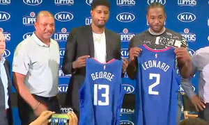 Clippers Paul George Kawhi Leonard
