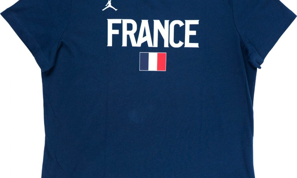 T shirt Jordan X FFBB France Rouge Basket4Ballers