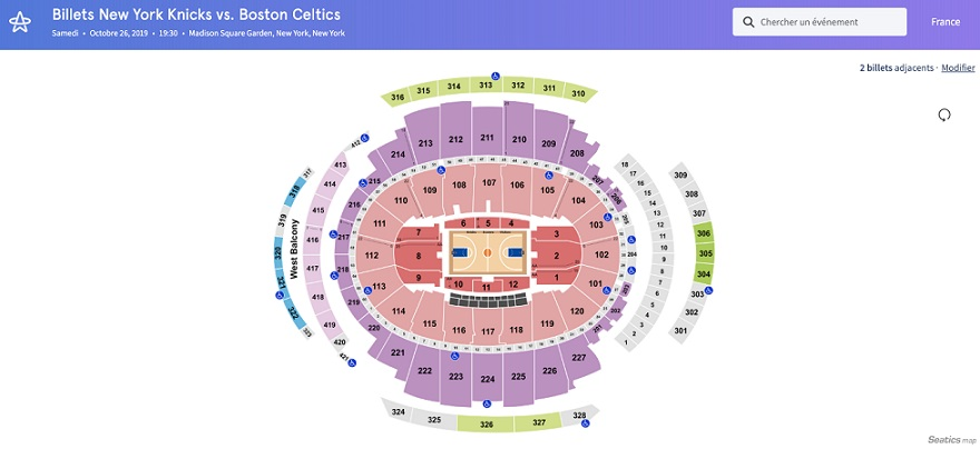 Billets NY Knicks HelloTickets