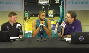 Nicolas Batum Media Day