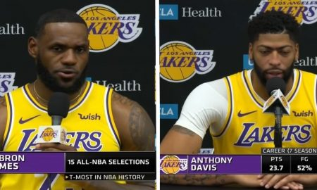 LeBron James pari Anthony Davis