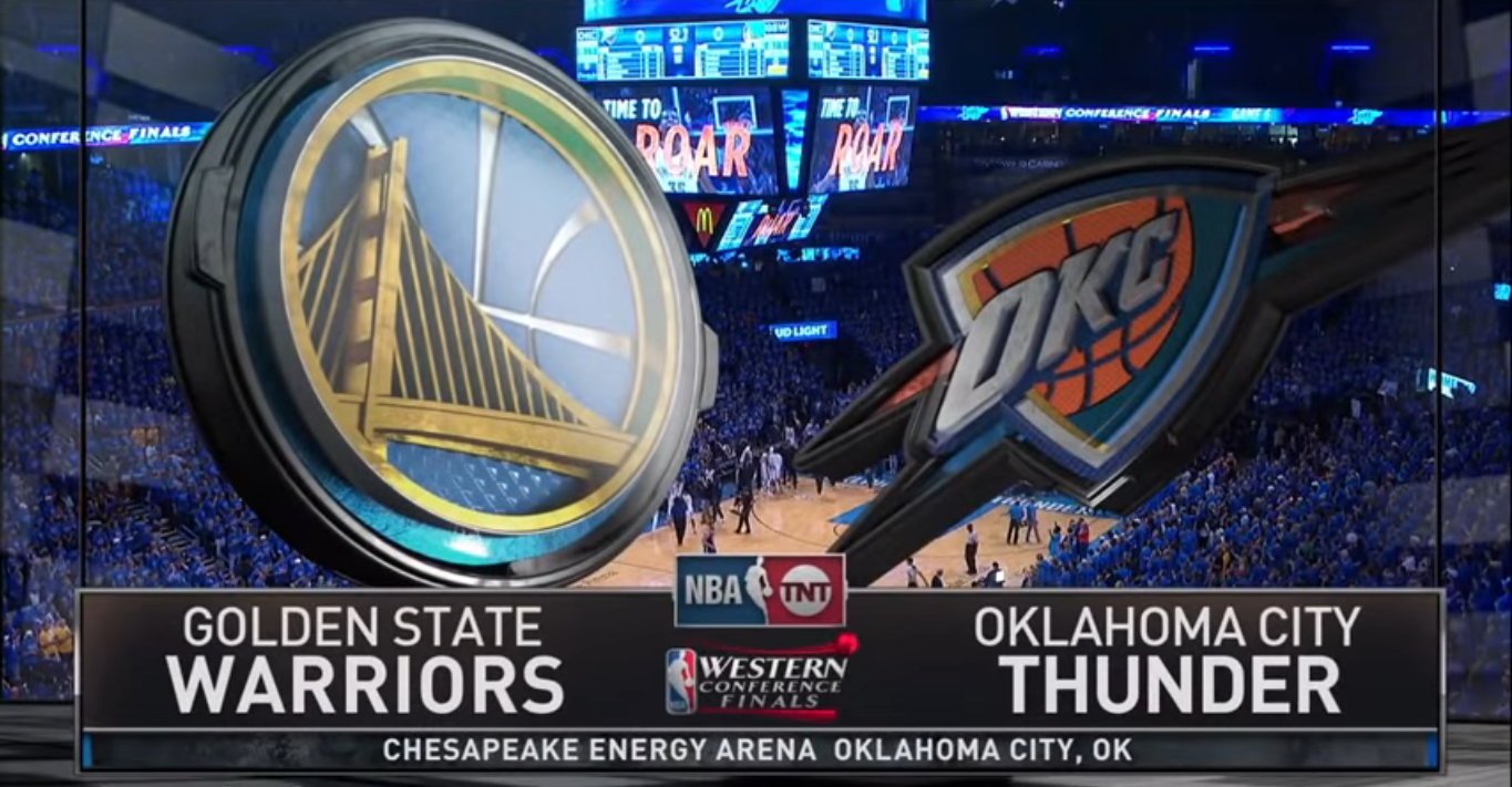 Thunder vs Warriors
