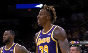 Dwight Howard 4 novembre 2019