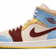 Air Jordan 1 Mid SE Fearless Maison Chateau Rouge
