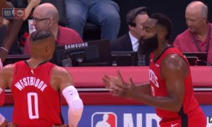 James Harden et Russell Westbrook