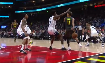 Trae Young assist