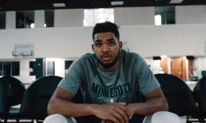 Karl Anthony Towns KAT 14 janvier 2020