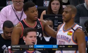 Kyle Lowry Chris Paul 16 janvier 2020