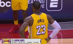 LeBron James 19 janvier 2020