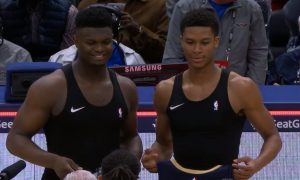 Zion Williamson 25 janvier 2020