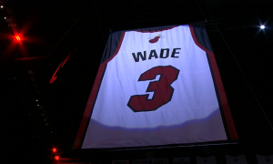 Dwyane Wade maillot Miami 23 Février 2020