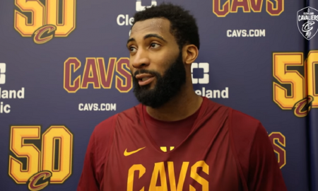 Andre Drummond Cleveland Cavaliers 9 Février 2020