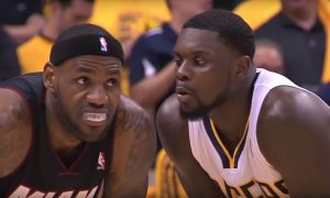 Lance Stephenson LeBron James