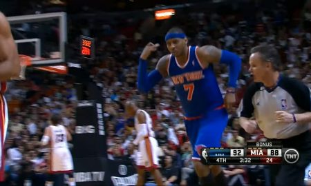Carmelo Anthony 2 avril 2013