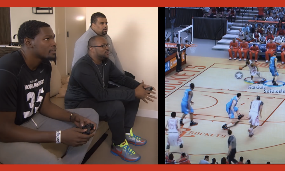 Source : Youtube NBA 2K, Kevin Durant 01/04/20