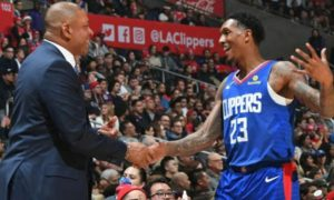 Lou Williams et Doc Rivers