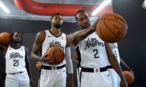 Kawhi Leonard Paul George Patrick Beverley Los Angeles Clippers