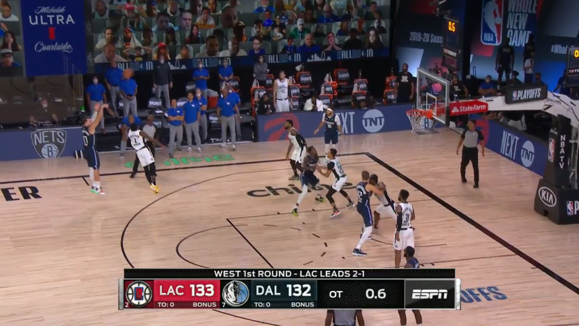 Buzzer Luka Doncic Clippers