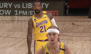 JR Smith & Alex Caruso