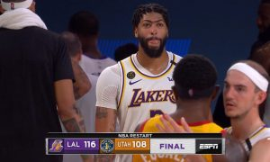 Anthony Davis 4 août 2020