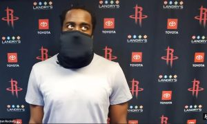 James Harden Masque 11 aout 2020