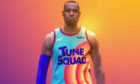 LeBron James Space Jam 2 maillots 18 aout 2020