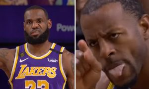 Andre Iguodala LeBron James 30 septembre 2020