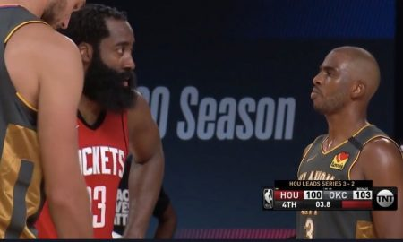 Chris Paul VS James Harden NBA