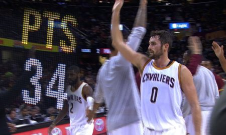 Kevin Love 34 points 7 septembre 2020