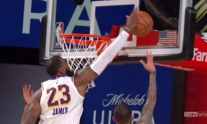 LeBron James dunk 9 septembre 2020